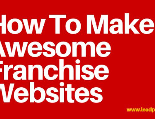 How To Make Awesome Franchise Websites