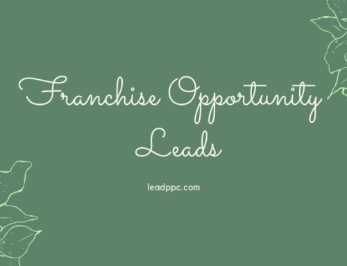 Franchise Opportunity Leads
