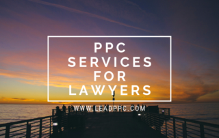 PPC Services For Lawyers