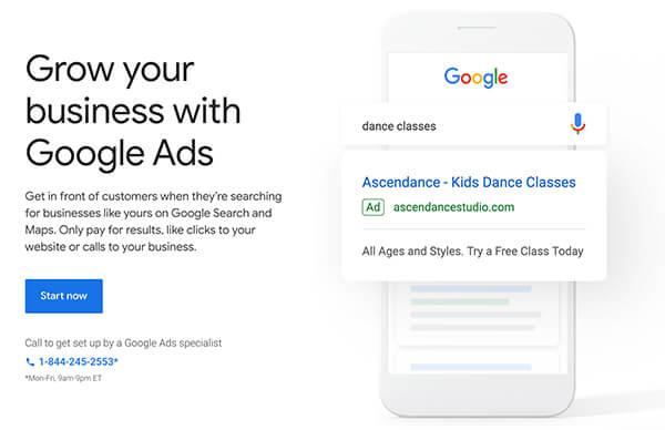 Setup Google Ads Account