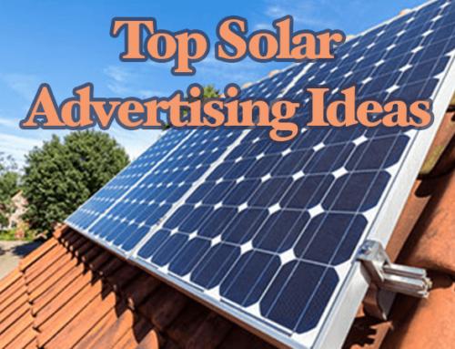 Top Solar Advertising Ideas For 2021
